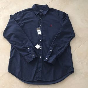 NWT Polo by Ralph Lauren Men's Button Down